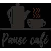 Sticker Pause Café