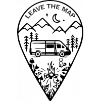 Sticker Leave The Map