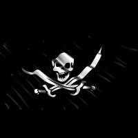 Autocollant Drapeau Pirates 2