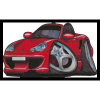 Autocollant 016-Porsche-Boxter