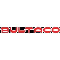 Sticker Logo Bultaco Rouge