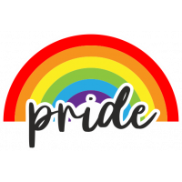 Sticker Arc en Ciel Pride