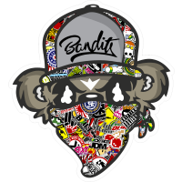 Sticker bomb Jdm Bandit Tete Paul