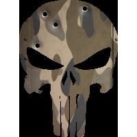 Sticker Punisher Camouflage 2