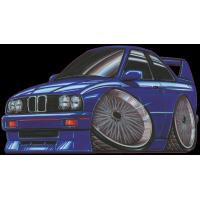 Autocollant 037-E30 M3