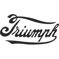 Sticker TRIUMPH Logo