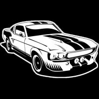 Sticker FORD Car (2)