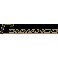 Sticker NORTON Commando Doré