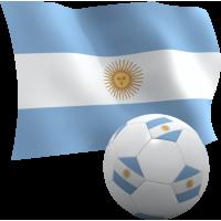 Autocollant Argentine foot