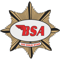 Sticker MOTO BSA Logo (4)