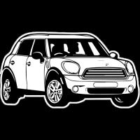 Sticker MINI Cooper 2 car