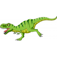 Sticker Dinosaure T Rex 2