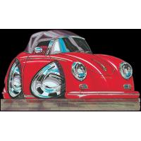 Autocollant 091-Porsche-356