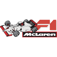 Sticker Mclaren Formule 1