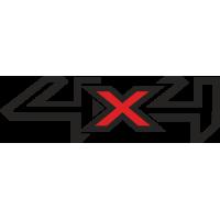 Sticker FORD 4X4 (3)
