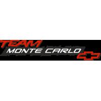 Sticker CHEVROLET TEAM MONTE CARLO