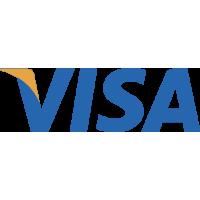 Sticker Visa logo