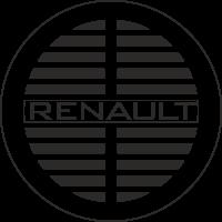 Sticker Renault Ancien Rond