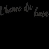 Sticker L'heure du Bain