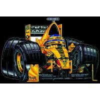 Autocollant F1_Jordan_Trulli