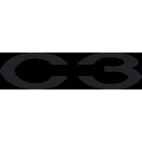 Sticker Citroen C3