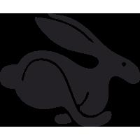 Sticker Volkswagen Rabbit