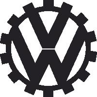 Sticker Volkswagen Logo 2