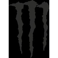 Sticker Monster Energy M