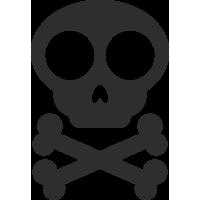 Sticker Skull 5