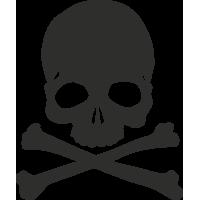 Sticker Skull 8