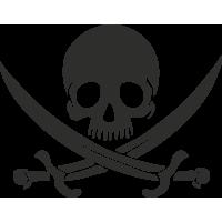 Sticker Skull 9