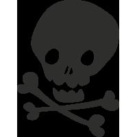 Sticker Skull 10