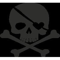 Sticker Skull 11