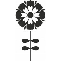 Sticker Fleurs Tige 2