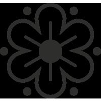 Sticker Fleurs 6