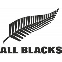 Sticker Rugby Logo All Blacks