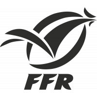 Sticker Rugby Ffr Logo