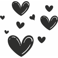 Sticker Cœur 13