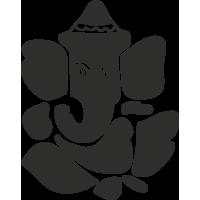 Sticker Symbole Ganesh 2