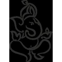 Sticker Symbole Ganesh 5