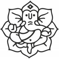 Sticker Symbole Ganesh 6