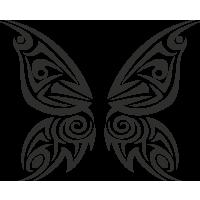 Sticker Tribal Papillons