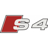 Sticker Audi S4