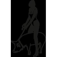 femme cochon