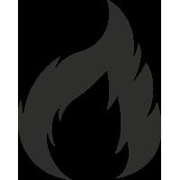 Sticker Flamme 1