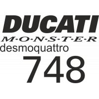 Sticker DUCATI MONSTER 748