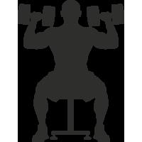 Sticker Sport Muscu 4