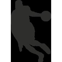 Sticker Sport Basket 9