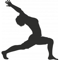 Sticker Sport Yoga 10