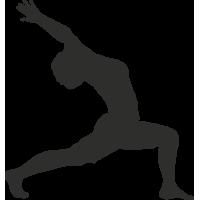 Sticker Sport Yoga 10